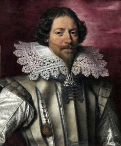 Portrait of a man by Frans Pourbus the younger, oil on canvas, 1610-1620, Art Gallery of New South Wales