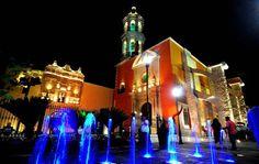 Plaza Fundadores de Durango, Mexico