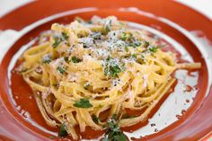the chew | Recipe  | Michael Symon's Fettuccine Alfredo