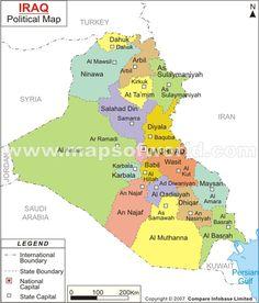 #Iraq #Map