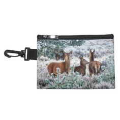 Early Rising Deer Accessory Bag - photography gifts diy custom unique special
