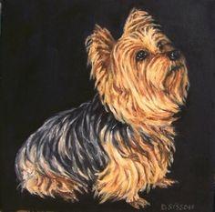 Dog Oil Paintings | yorkshire_terrier_oil_painting_dog_pet_art_commiss ...