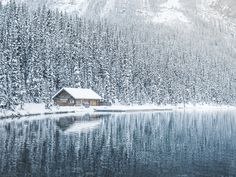 Boathouse at Lake Louise by Nicholas Yee (Canada)
