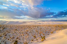 White Sands National Monument, NM, by Denny Armstrong on Flickr