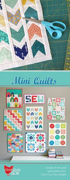 Mini Quilts Booklet, PDF Pattern – Do it yourself Charm Pack Quilt Patterns, Mini Quilt Patterns, Charm Pack Quilts, Quilting For Beginners, Quilting Tutorials, Quilting Projects, Quilting Ideas, Sewing Projects, Nancy Zieman