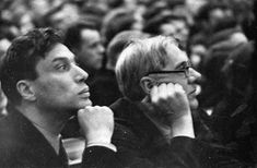 Boris Ignatovich     Boris Pasternak and Korney Chukovsky at the First All-Union Congress of Soviet Writers, Moscow, USSR       1934