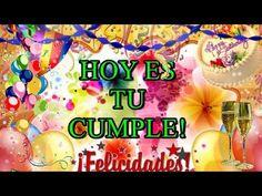 Feliz cumpleaños! felicidades