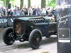 """Brutus"" from Germany at Concours d'élégance Paleis Het Loo, Apeldoorn, Netherlands. An extraordinary vehicle that was constructed in the Auto & Technik MUSE. Race Cars, Netherlands, Antique Cars, Military, Racing, Drag Race Cars, The Nederlands, Vintage Cars"