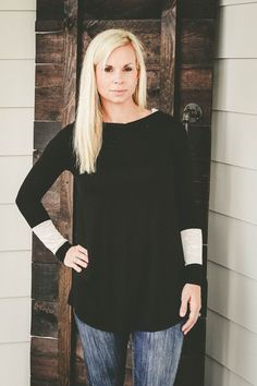 Cute and casual! ❤️❤️❤️Touch of Lace Hooded Pullover – KatyLoo www.katyloo.com