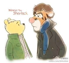 deducing is what Sherlocks do best, the most wonderful thing about consulting detectives is that I'M the only one!