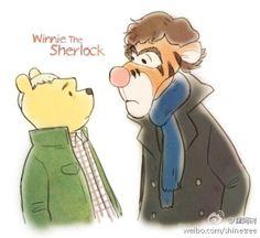 Winnie the Pooh/Sherlock