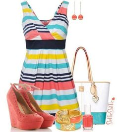 Love the dress and shoes
