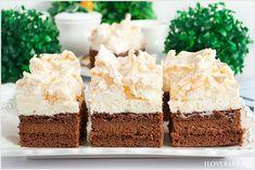 Czekoladowa chmurka to niesamowicie pyszne ciasto z duża dawką czekolady, nasączone likierem z pysznym kremem i bezą. Cake Recipes, Dessert Recipes, German Desserts, Food Cakes, Vanilla Cake, Food And Drink, Birthday Cake, Sweets, Chocolate