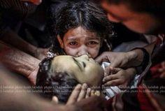 GazaUnderAttack  UNICEF: 400,000 children in Gaza suffer trauma ...
