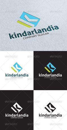 Kindarlandia K Letter Logo - GraphicRiver Item for Sale