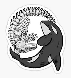Orca stickers featuring millions of original designs created by independent artists. Homemade Stickers, Diy Stickers, Printable Stickers, Laptop Stickers, Rick And Morty Stickers, Simpsons Drawings, Hand Sticker, Tumblr Stickers, Kawaii Stickers