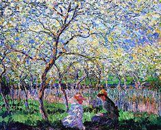 Essai De Figure En Plein Air by Claude Monet