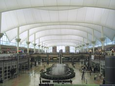 Denver International Airport - Wikipedia, the free encyclopedia Denver Airport, Denver City, Denver Downtown, Shell Structure, State Of Colorado, Denver Colorado, Great Lakes, International Airport, Rocky Mountains