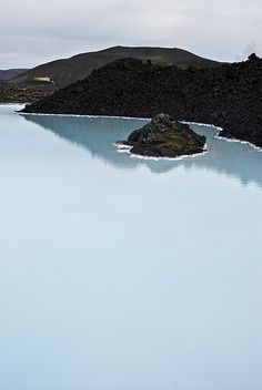 Blue Lagoon, Reykjavik, Iceland. Absolutely Beautiful. Can't wait to travel Scandanavia , Iceland included.