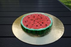 Watermelon Cake    August 2016 Watermelon Cake, Cakes, Baking, Fruit, Food, Watermelon, Pies, Essen, Bread Making