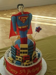 All kinds of cakes, all occasion cakes, Custom designed cakes Superman Cakes, Superman Party, Superman Stuff, Birthday Cake With Photo, Boy Birthday, Birthday Cakes, Birthday Ideas, Cake Decorating, Decorating Ideas