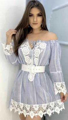 Vestido Casual, Film Aesthetic, Fasion, Diy Room Decor, Ideias Fashion, Dresses With Sleeves, Lady, Long Sleeve, Womens Fashion