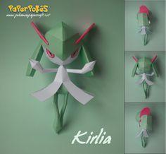 281 / KIRLIA - Pokémon Papercraft Name: Kirlia Type: Psychic/Fairy Species: Emotion Pokémon Height: m Weight: kg. Play Pokemon, Pokemon Comics, Pokemon Stuff, Paper Art, Paper Crafts, Diy Crafts, Papercraft Pokemon, Baby Animal Drawings, Pencil Drawing Tutorials