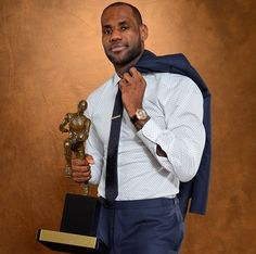 Lebron James, played basketball for the Cleveland Cavaliers, and now the Miami Heat.   2013 mvp.  Born in Akron, Ohio.- Google Search