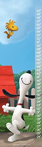 Peanuts MHPNTS493C42 Free To Dance Canvas Growth Chart 12 x 42 Multicolor -- Want to know more, click on the image. (This is an affiliate link and I receive a commission for the sales)