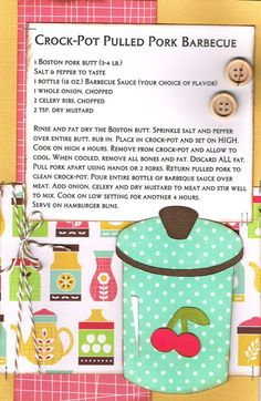 Paper Cottage: Recipe Kit to Go for week of Fixate Cookbook, Making A Cookbook, Cookbook Recipes, Cookbook Ideas, Scrapbook Recipe Book, Scrapbook Pages, Scrapbooking Layouts, Homemade Recipe Books, Diy Recipe