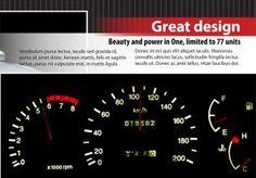 Free Auto Shop InDesign Catalogue Indesign Templates, Adobe Indesign, T Power, Car Shop, Automotive Design, Catalog, Free, Furniture, Brochures