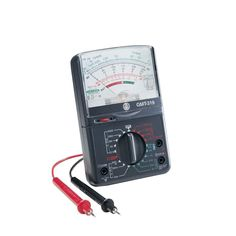 Gardner Bender Analog Multimeter, 7 Function, 19 Range, Ac/Dc Volt, Dc C Electrical Tester, Electrical Work, Electrical Installation, Electrical Equipment, Ranger, 9 Volt Battery, Cool Bluetooth Speakers, Electronic Recycling, Battery Sizes