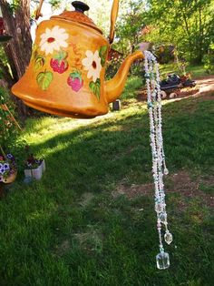 #Hang a teapot!