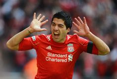 Luiz Suarez Goal Celebrations