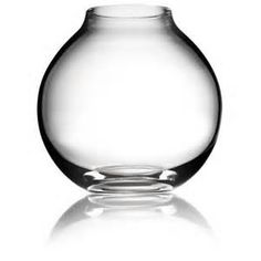 Ball' Glass Vase from Menu  Three layered mouth blown glass.  Dimensions: 16cm high x 15sm dia.  Was £34.95 now £19.00  Available for collection from our Epping Shop.  Stock: 3 x Clear