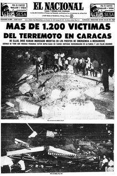 Terremoto de Caracas. Publicado el 30 de julio de 1967.