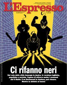 La copertina dell'Espresso in edicola da domenica 2 luglio