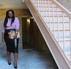 Plus size fashion blogger spotlight- Chichi of Supple Chic via TheCurvyFashionista.com