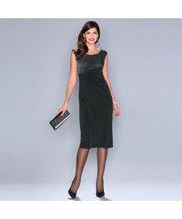 360e5ed97278 Venca Večerní šaty s nařasením bílá šedá Calvin Klein