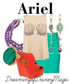 Seashell top and shoes