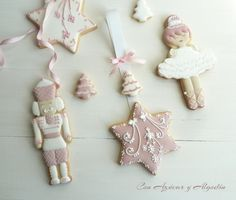 The Nutcracker | Cookie Connection Fancy Cookies, Iced Cookies, Royal Icing Cookies, Christmas Fairy, Nutcracker Christmas, Christmas Sugar Cookies, Christmas Baking, German Christmas Decorations, Cookie Decorating Icing