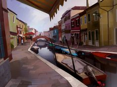 Chris Oatley's Portfolio: Digital Painting & Character Design for Animation
