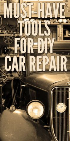 b98442f6341 Car enthusiasts are some of the most enthusiastic and passionate  do-it-yourselfers. This is a simple list of some of the most desirable tools  to make a ...