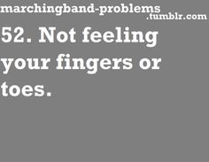 Marching Band Problems, Hope, we had to cuddle! Marching Band Jokes, Marching Band Problems, Flute Problems, Band Quotes, Band Memes, Music Humor, Music Memes, Band Nerd, Band Camp