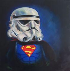 """Super trooper"" oil on canvas"