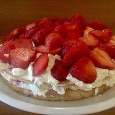 Jahodový dort Viktorie