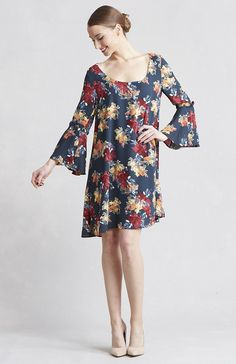 Paper Crown swing dress