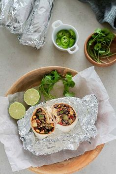 Black Bean and Quinoa Freezer Burritos! These make-ahead vegetarian burritos are super easy to make, loaded with beans and veggies, and are freezer-friendly. Perfect for healthy lunch on the go or planning for busy times. #vegetarian #burrito #freezermeal #freezerfriendly #easy #healthy #recipe #beans #quinoa #makeahead Vegetarian Mexican Recipes, Vegetarian Soup, Vegetarian Burrito, Vegan Recipes, Healthy Recipe Videos, Healthy Eating Recipes, Healthy Food, Freezer Burritos, Freezer Meals