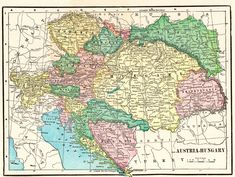 1902 Antique AUSTRIA Map Vintage Map of Austria and Hungary Wall Art Library Home Office Decor Anniversary Gift for Birthday Wedding 9455 by plaindealing on Etsy Old Maps, Antique Maps, Vintage Maps, Austria Map, Collage Kunst, World Map Decor, Historical Maps, Fish Art, Bird Prints