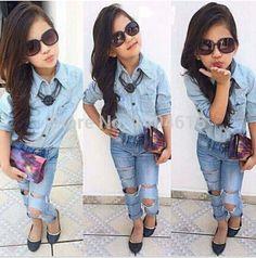 Rt-130-nuevo-2015-primavera-verano-moda-vaquera-establecido-blusa-fresco-jeans-pantalones-ropa-traje-para.jpg (554×561)